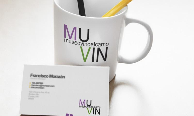 Immagine coordinata del Museo del Vino di Alcamo