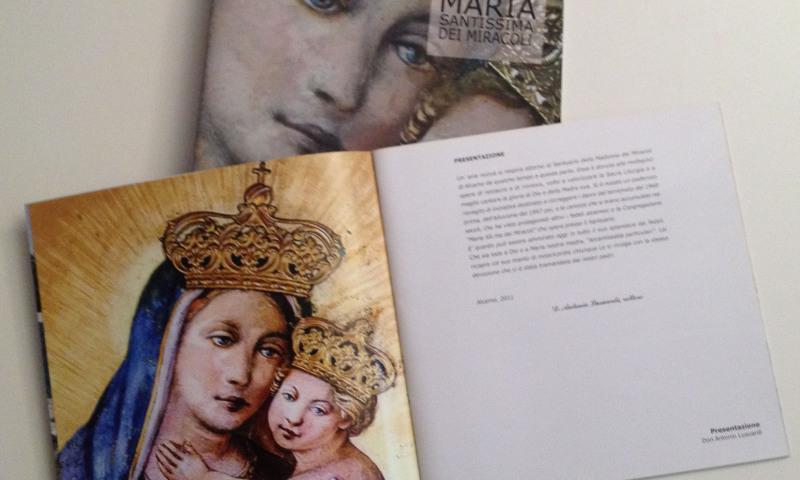 Booklet Santuario Maria Santissima dei Miracoli