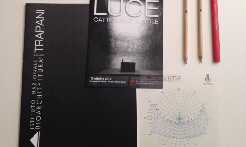 Immagine coordinata convegno Luce – catturiamo il sole
